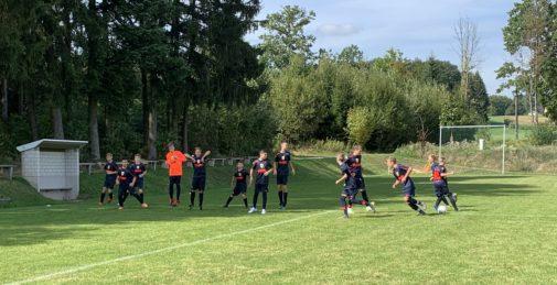 C2-Junioren kämpferische Top-Leistung beim Tabellenführer FC Hausen