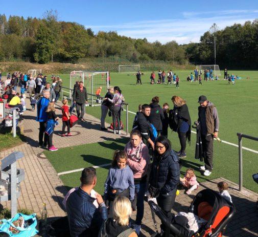 F-Junioren Spieltag im Waldstadion