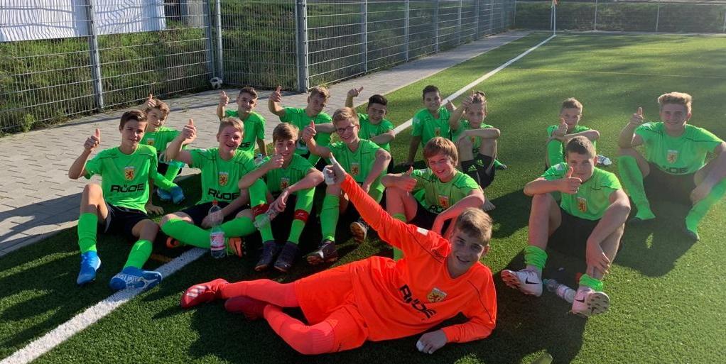 Tolles Spiel der C2-Junioren beim Tabellendritten FV Fahrnau