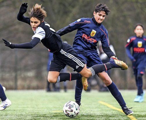 U13 des JFV Region Laufenburg spielte in Lörrach gegen europäische Spitzensclubs