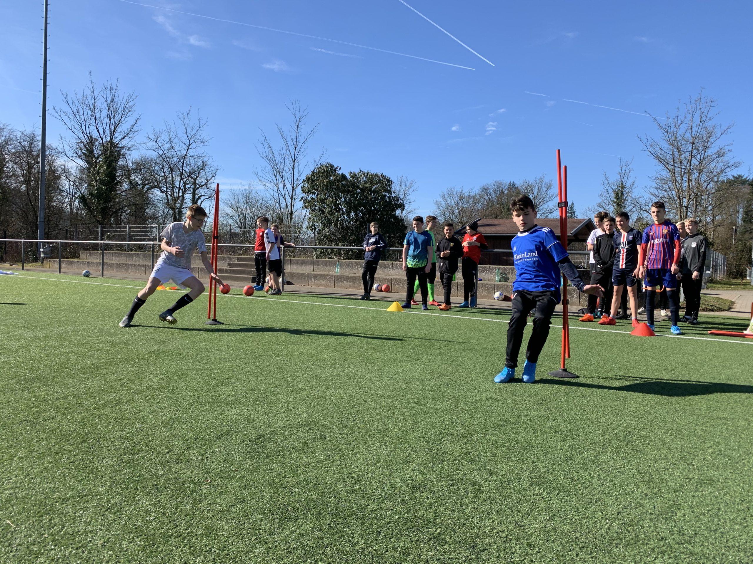 C2-Junioren haben Trainingstag zur Rückrundenvorbereitung